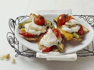 Venetian Cod Cream on Ciabatta Toast recipe