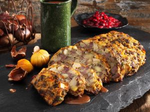 Venison and Veal Meatloaf with Chestnuts recipe