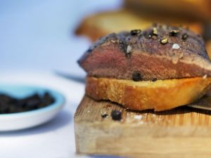 Venison with Red Wine and Root Vegetables recipe