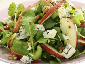 Waldorf-style Salad with Blue Cheese recipe