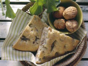 Walnut and Herb Focaccia recipe