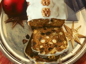 Walnut Cake with Honey recipe