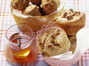 Walnut-Honey Muffins recipe