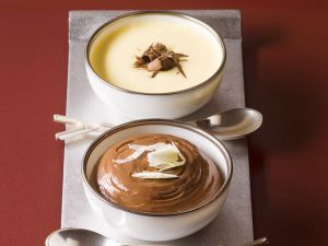 White and Dark Chocolate Mousse recipe