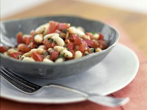 White Bean Salad with Tomatoes recipe