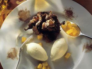 White Chocolate Mousse with Mango recipe