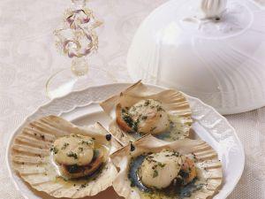White Wine Scallops recipe
