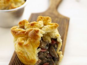 Woodland Funghi Pasties recipe