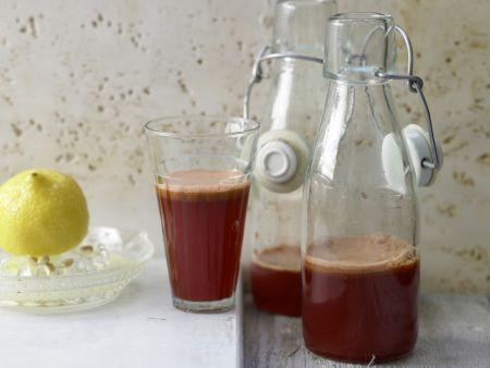 Apple-Vegetable Juice