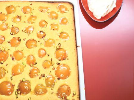 Apricot Semolina Cake