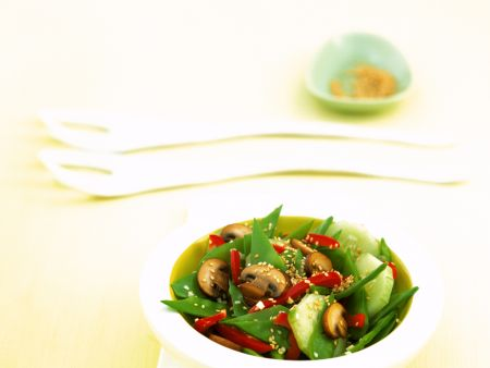 Asian Vegetable Salad