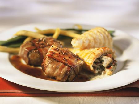 Bacon Wrapped Fillets recipe | Eat Smarter USA