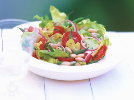 Bean and Tomato Salad