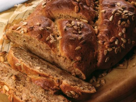 Braided Nut Bread