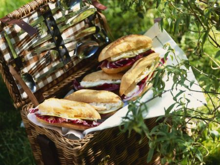 Cheese Baguette Sandwiches