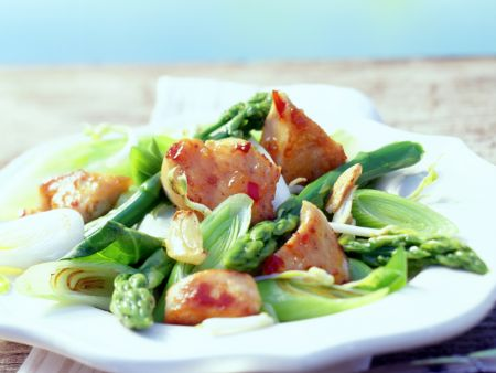 Chicken with Asparagus