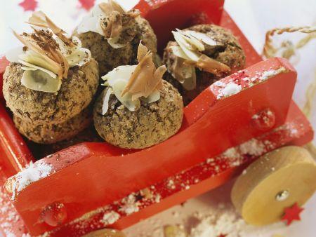 Chocolate-Almond Cookie Balls