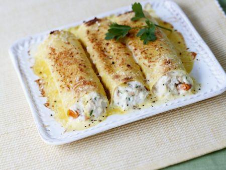 Crab-stuffed Pasta Tubes recipe   Eat Smarter USA