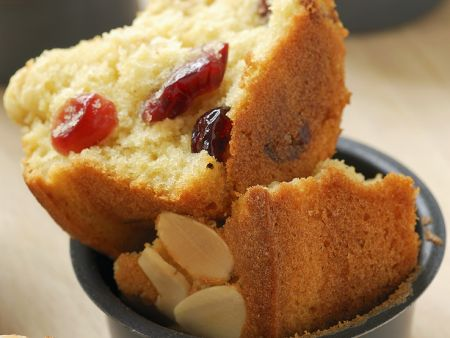 Cranberry-Almond Muffins