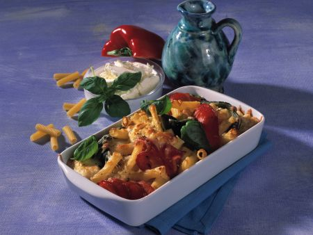 Cream Cheese and Pasta Bake