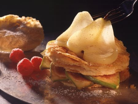 Fig and Pear Napoleons