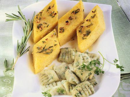 Gnocchi and Polenta