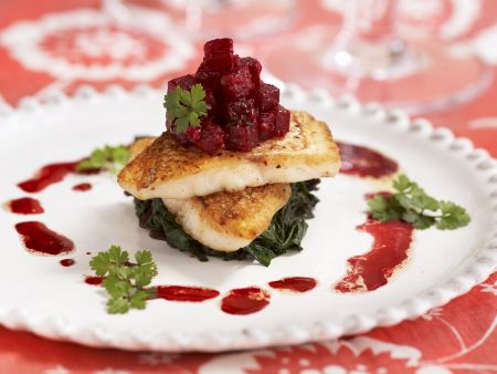 Gourmet fish fillets with beetroot recipe eat smarter usa for Gourmet fish recipes