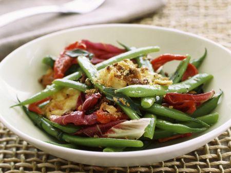 Green Bean and Cheese Salad