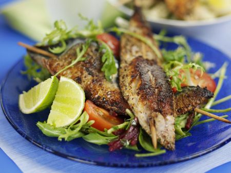Grilled Fish Skewers