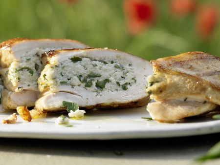 Grilled Stuffed Chicken Breasts