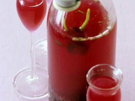 Homemade Red Currant and Herb Liqueur recipe | Eat Smarter USA