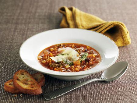 Italian Vegetable Soup With Pesto Recipe Eat Smarter USA - Italian vegetable soup