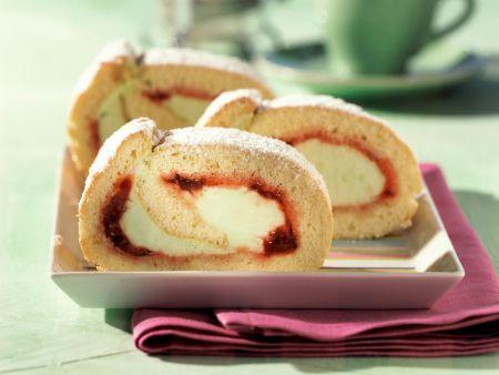 Jellyroll Cake with Woodruff