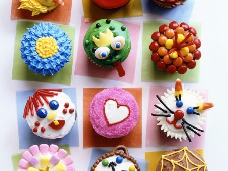 Iced Fairy Cakes Calories