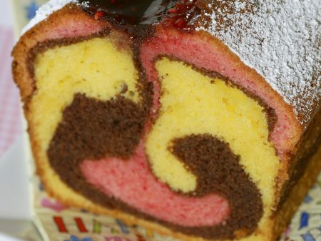 Easy Marble Loaf Cake Recipe