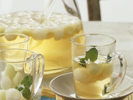 Melon and Lemon Balm Drink