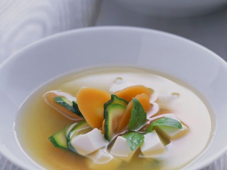 Miso Soup with Tofu and Vegetables recipe | Eat Smarter USA