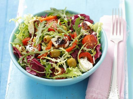 Mixed Salad with Balsamic and Honey Dressing