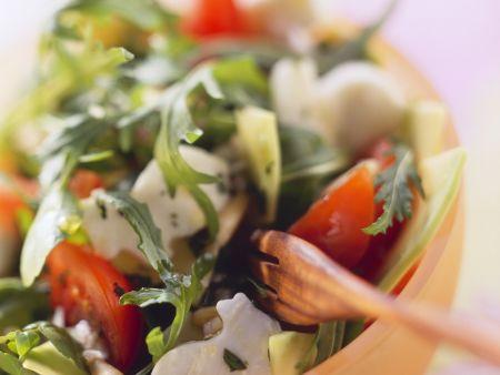 Mozzarella, Tomato, Arugula, and Watercress Salad recipe ...
