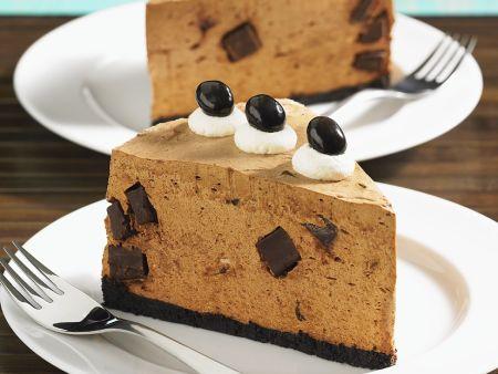 No Bake Coffee Cheesecake Recipe Eat Smarter Usa