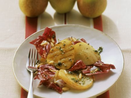 Nutty Grilled Pear Salad