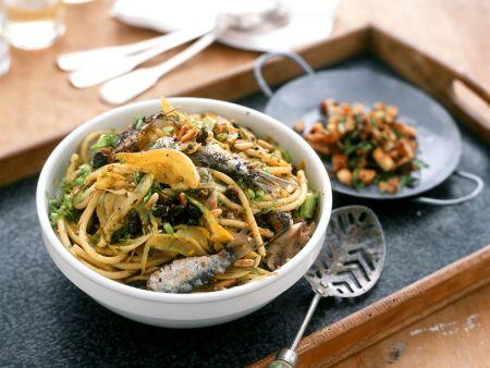Oily Fish Spaghetti Bowl
