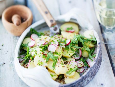 Potato Radish Salad