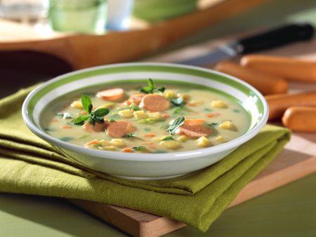 Potato Vegetable Soup