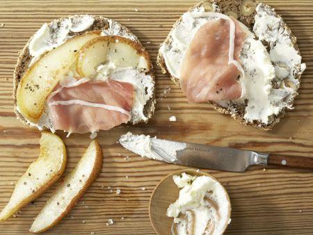Prosciutto And Cream Cheese Sandwiches Recipe Eat
