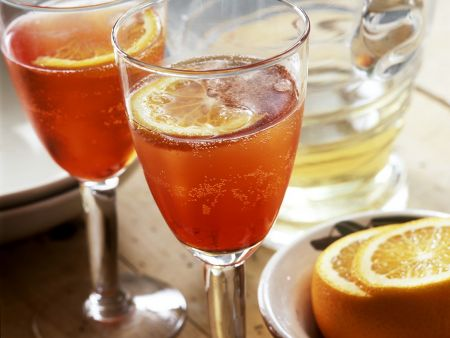 Prosecco-Campari Cocktail