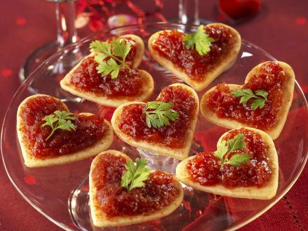 Romantic savoury canapes recipe eat smarter usa for Puff pastry canape ideas