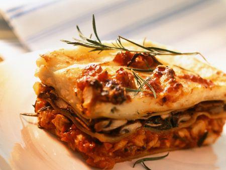 Rabbit Lasagna