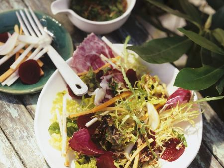 Radicchio and Frissee Salad