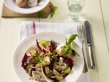 Bitter Leaf and Fruit Salad